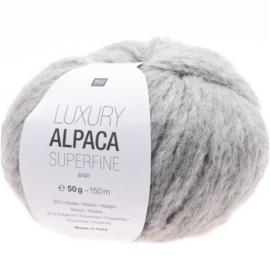 Rico Design - Luxury Alpaca Superfine Aran - Licht Grijs 003