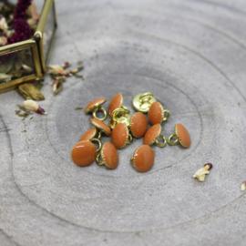 Atelier Brunette | Gem Buttons - Chestnut - 9mm