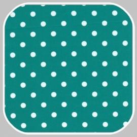katoen Dot | S | blauw groen