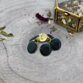 Atelier Brunette | Gem Buttons - Forest  12 mm