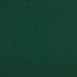 Tricot uni - Wafel - Quilt | Dark Green 032