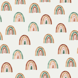 Family Fabrics | Tricot print | Over the Rainbow