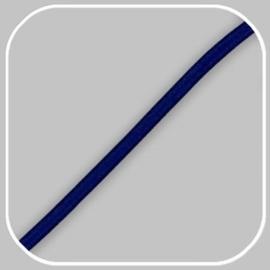 elastiekkoord -donker blauw /  ±Ø 3mm