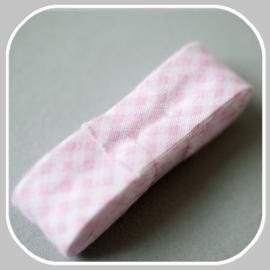 1223 ruit klein roze -  2 meter / 20mm
