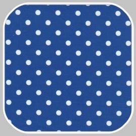 katoen Dot   S   hard blauw