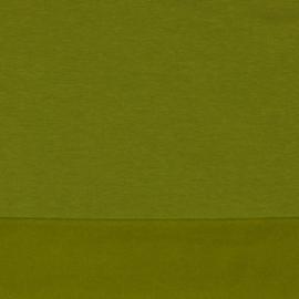 Tricot soft Sweat  | Biologische Katoen |  Moss Green - 016