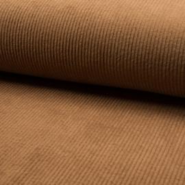 Corduroy Brede Rib | Stretch | Camel 053