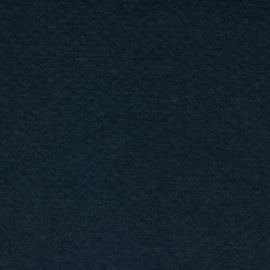 Tricot uni - Wafel - Quilt | Navy Melange 011