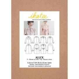 Ikatee Pattern   Alex Blouse or Dress - Kids 3/12Y