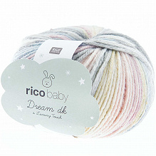 Rico Design |Baby Dream  dk - Luxury touch | Lichtblauw - Lila  011