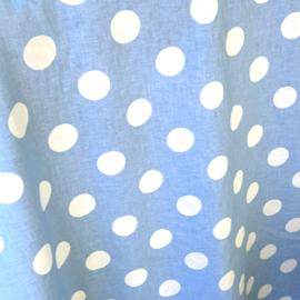 Katoen   Stip Maxi   Lichtblauw