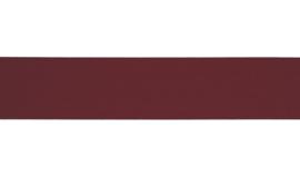 Elastiek uni | 2,5 cm | Bordeaux