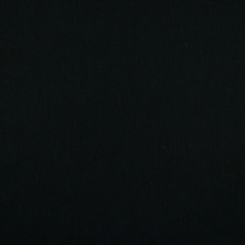 Cotton Voile | GOTS | Black 001