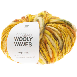 Rico Design | Creative Wooly Waves - Yellow 003