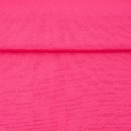 tricot boord uni | fuchsia