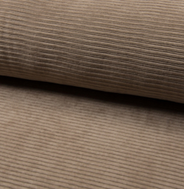 Jersey Corduroy | Taupe 055