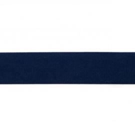 elastiek uni | 4 cm | donkerblauw