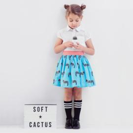 Soft Cactus | Zebraloha  | Blue