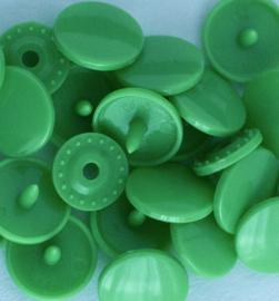 Kamsnaps - 12.4 mm - 25 stuks - Appelgroen