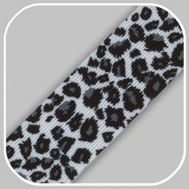 luipaard print z/w 4 cm