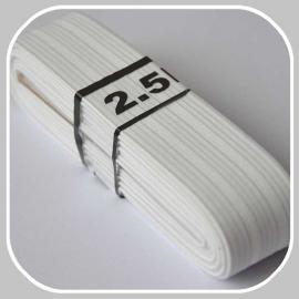 elastiek wit 3 cm