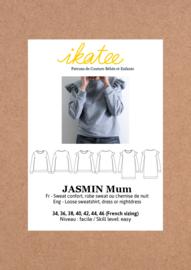 IKATEE | JASMIN Mum sweatshirt/dress -34-46 - Paper Sewing Pattern
