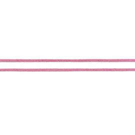Koord Suedine - Oud Roze - 3 mm