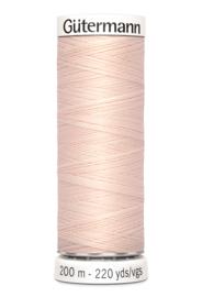 Gutermann garen 200 meter - Sleutelbloem Roze   210