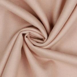 Katoen Flannel - Old Rose