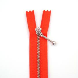 Rits Metaal | 15 cm - Oranje