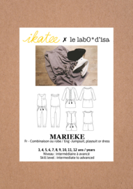 Ikatee Pattern | Marieke - Jumpsuit, playsuit & dress - Girl 3/12