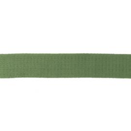 Tassenband Katoen | Oud Groen   | 4cm breed