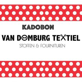 Kadobon met kortingscode - Inwisselen in de webshop.