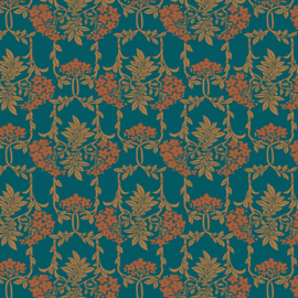 Liberty of London | Nouveau Mayflower Lasenby Cotton | Green