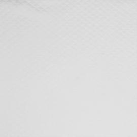 Tricot uni - Wafel - Quilt | Wit 001