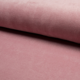 Jersey Fine Rib | Dusty Rose