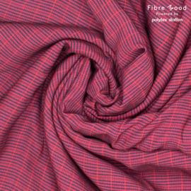 Fibremood  - Odile - Crepe Pied de Poule Diamond - Purple Black