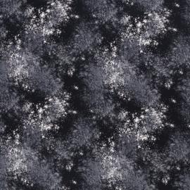 Katoen Print | Swafing -  Splash - Black