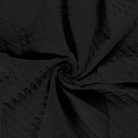 Double Gauze - Mousseline Quilted   Black 069