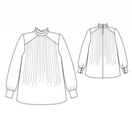 Republique du Chiffon   Elisabeth blouse   Engelstalig