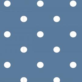 Tricot Stip | Blauw