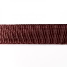 Tassenband Polypropylene | Bruin  |  40mm