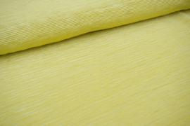 plisseestof | citroengeel