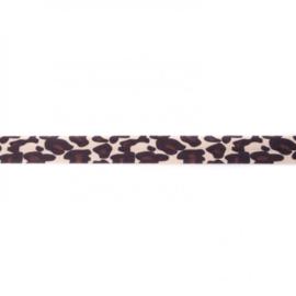 41241 elastisch biaisband tijger 15mm