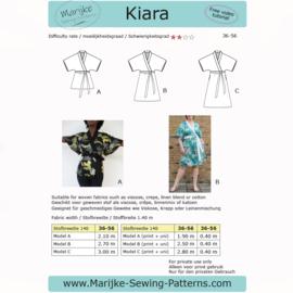 Marijke Sewing Patterns - Kiara - Maat 36- 56