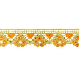 Goudband | Oranje  33080