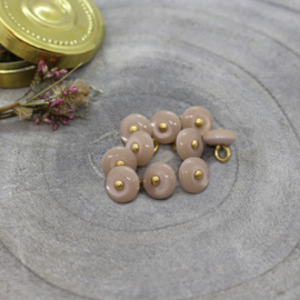 Atelier Brunette  Buttons |  Jewel - Blush   9 mm