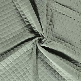 Double Gauze - Mousseline Quilted | Dusty Mint 022