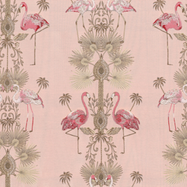Jaquard Double Face | Flamingo  | Pink