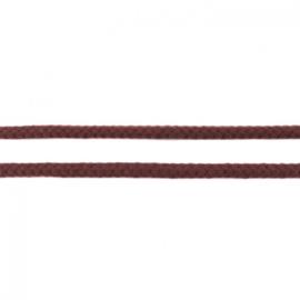 Katoenen Koord - 8 mm -  Choco